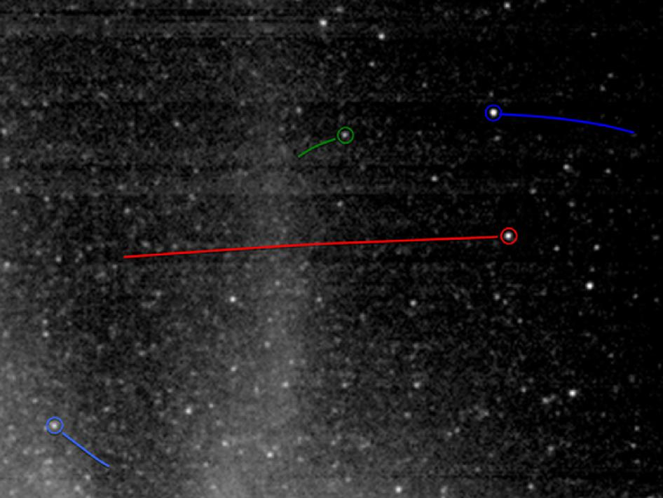 nasa comet tracking - 946×710